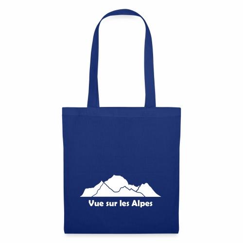 Vue sur les Alpes - Tote Bag