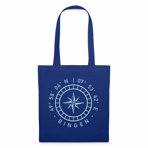 Bingen – Kompass - Stoffbeutel