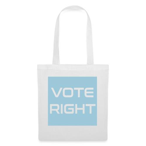 vote right - Stoffbeutel