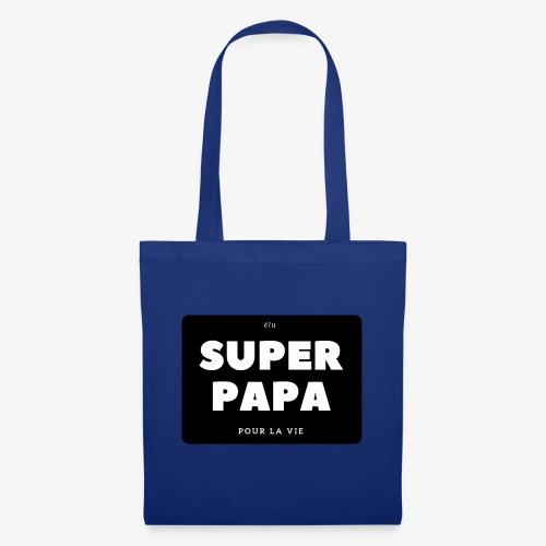 Elu super papa pour la vie - Tote Bag