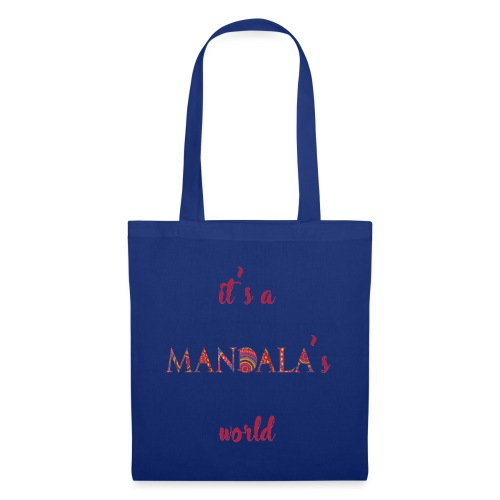 It's a mandala's world - Tote Bag