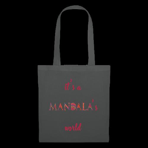 It's a mandala's world - Tote Bag