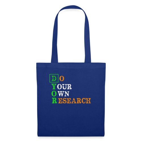 Do Your Own Research - DYOR - Cryptocurrency - Tote Bag