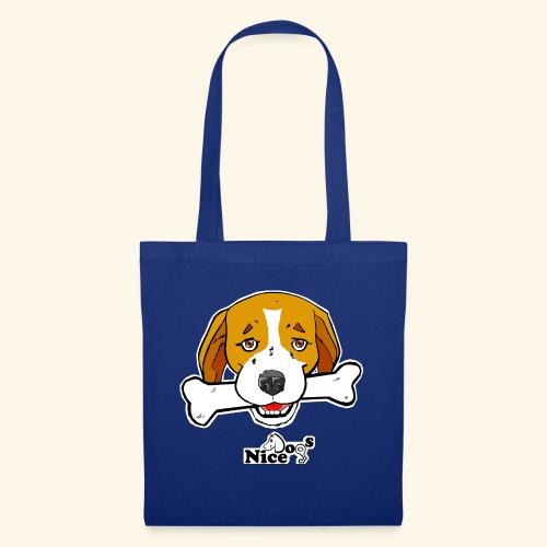 Nice Dogs Semolino - Borsa di stoffa