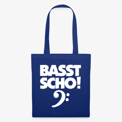 BASST SCHO! Bass Design für Bassisten - Stoffbeutel
