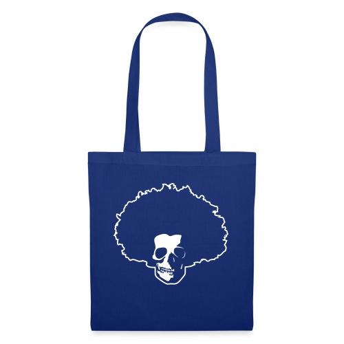 Afro Skull - Stoffbeutel