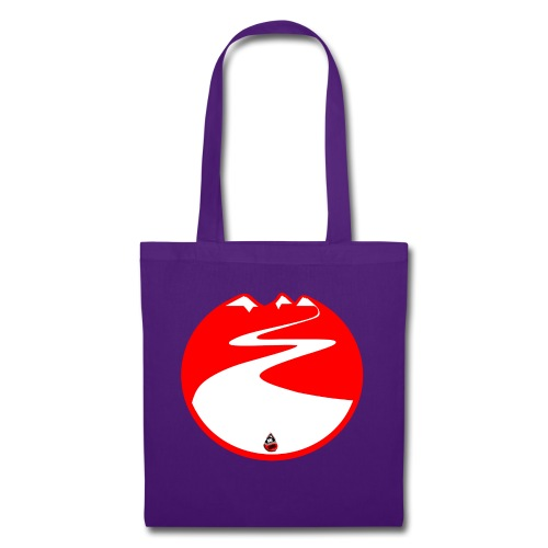 Montagne rouge - Tote Bag