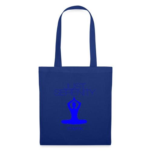 yogatyk blue - Tote Bag