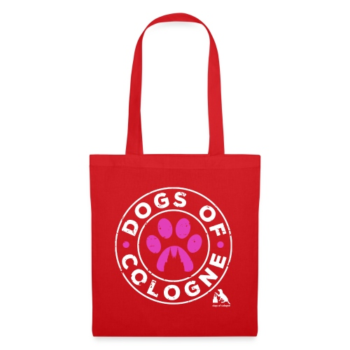 Dogs of Cologne - das Original! In Pink! - Stoffbeutel
