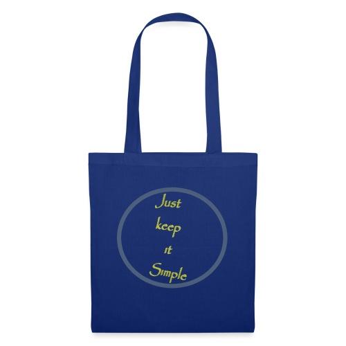 Keep it simple - Tote Bag