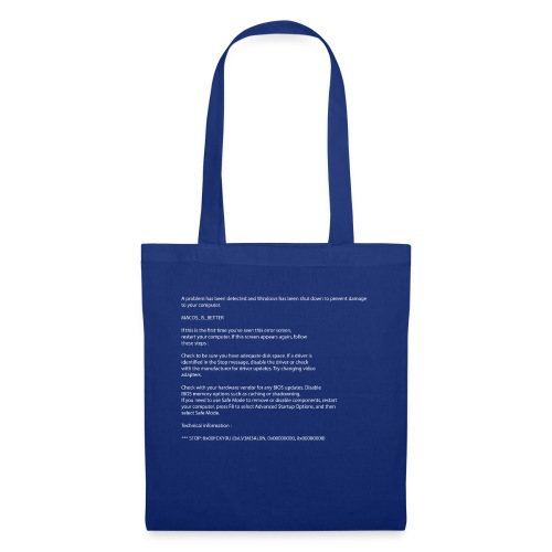 Windows BSOD - Tote Bag