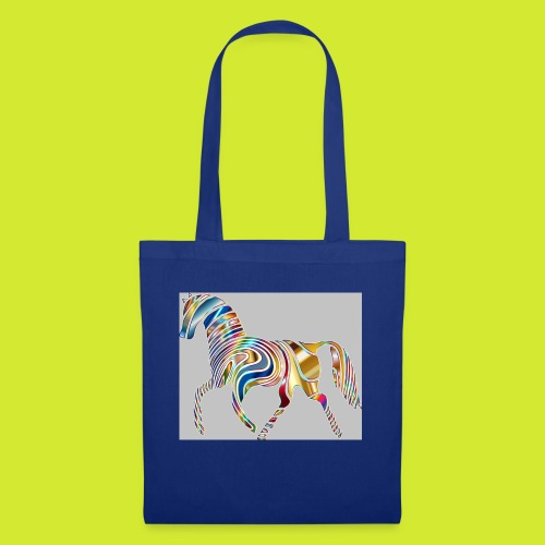 Psychedelic Animal Equine Art Horse Abstract 33226 - Stoffbeutel