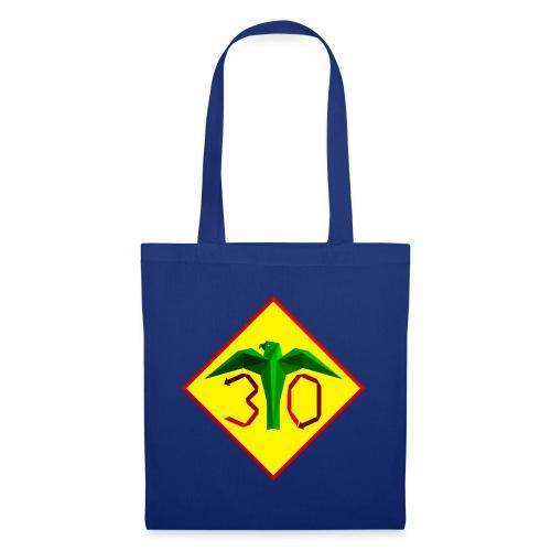 Värikäs juhlavuoden logo - Kangaskassi