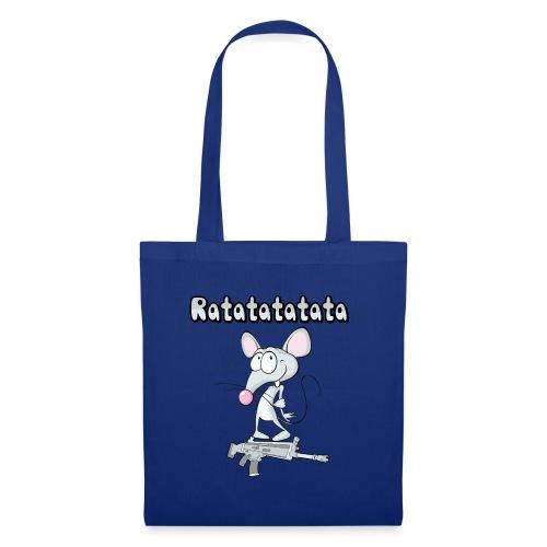 rata mouse pet dibujos animados cartoon funny art - Borsa di stoffa