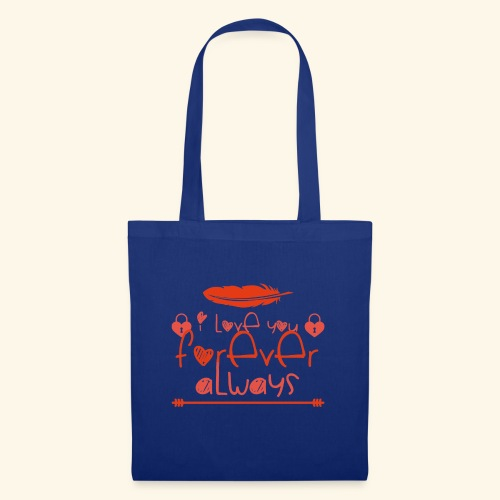I Love You Forever Always 3 - Tote Bag