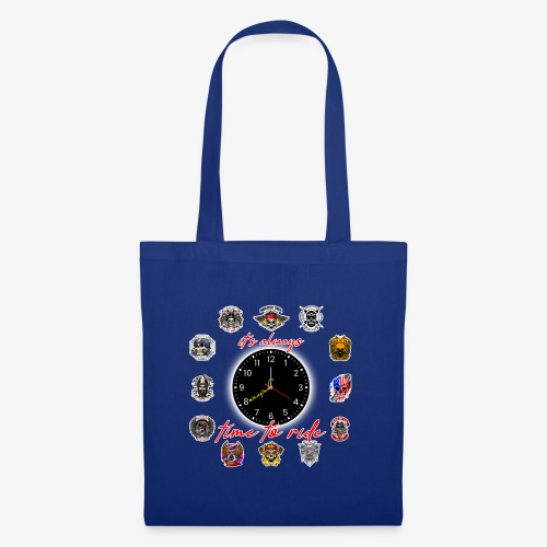 It's always time to ride - Collection - Borsa di stoffa
