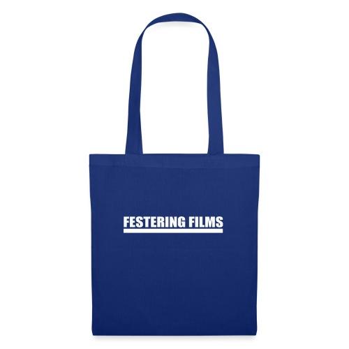 Logo de Festering Films (Blanc) - Sac en tissu