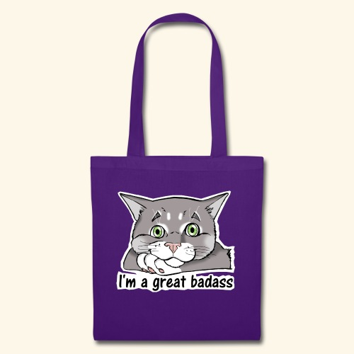 Nice Dogs CATS - Borsa di stoffa
