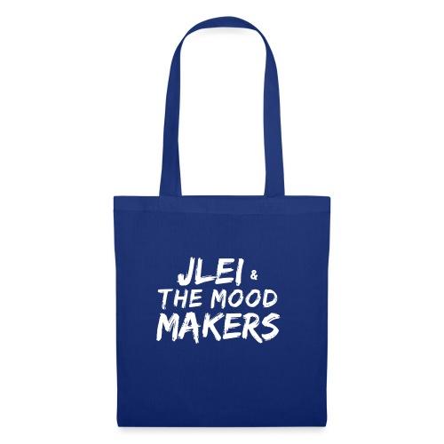Jlei & The Mood Makers Schriftzug Weiss - Stoffbeutel
