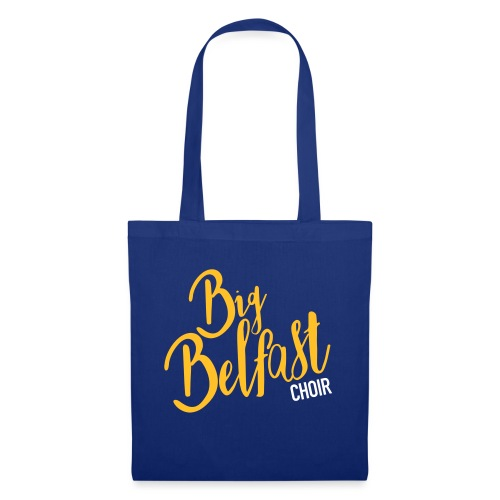 Big Belfast Choir Yellow white - Tote Bag