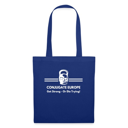Get strong or die trying white - Tote Bag