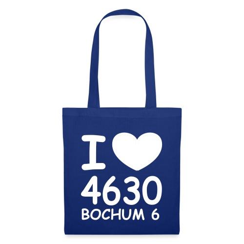 I ♥ 4630 BOCHUM 6 - Stoffbeutel