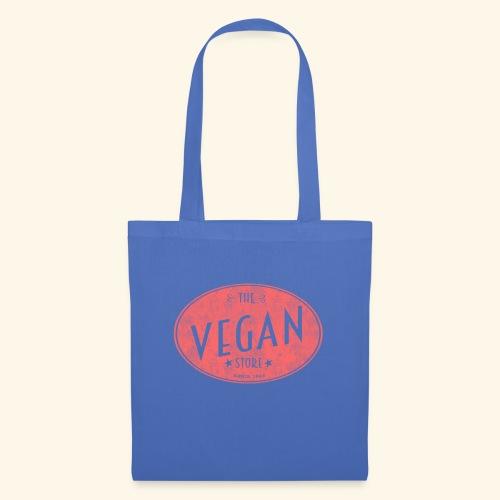 The Vegan Store - Vintage Store Logo design - Tote Bag