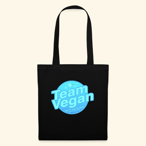 Team Vegan - Here to Save The World - Tote Bag