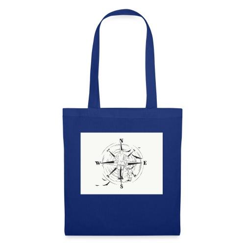Kompass des Lebens - Stoffbeutel