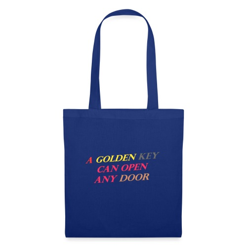 Say in English with 3D effect - Tote Bag