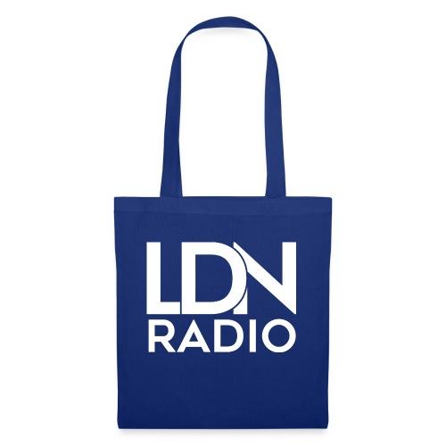 LDN Radio Logo white - Tote Bag