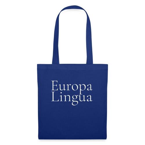 Europa Lingua blanc - Sac en tissu