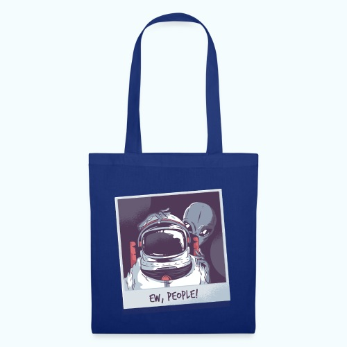 Aliens and astronaut - Tote Bag
