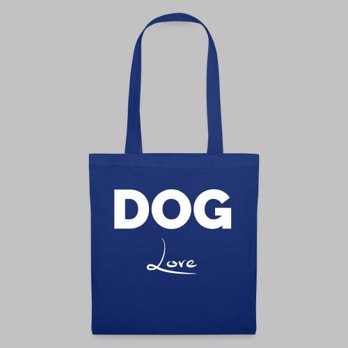 DOG LOVE - Geschenkidee für Hundebesitzer - Stoffbeutel