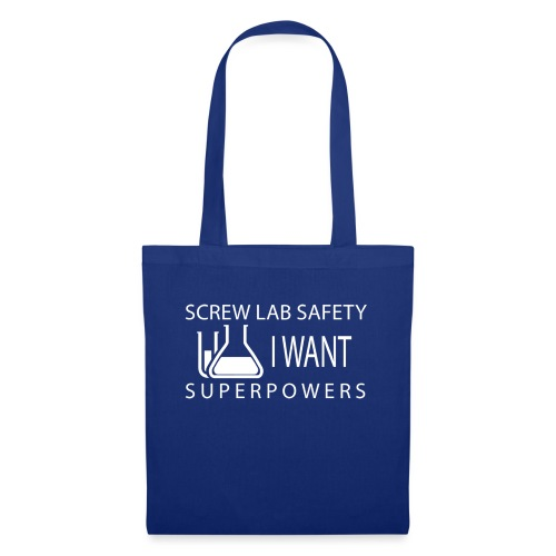 screw lab safety white - Tote Bag
