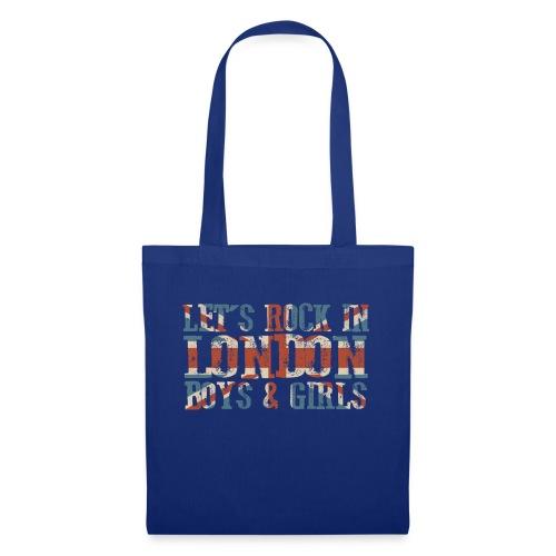 LET'S ROCK IN LONDON - Borsa di stoffa
