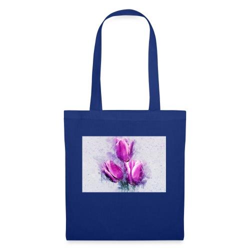 stevanka flowers tulpen - Stoffbeutel