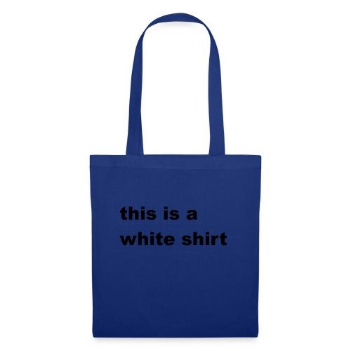 White shirt - Stoffbeutel