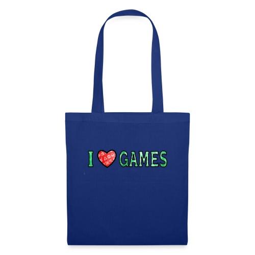 I Love Games - Torba materiałowa