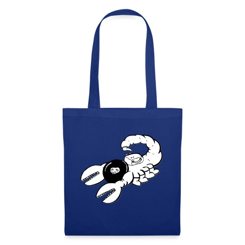 Space Scorpions?! (Black and White) - Tote Bag