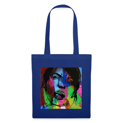Girl face1 - Tote Bag