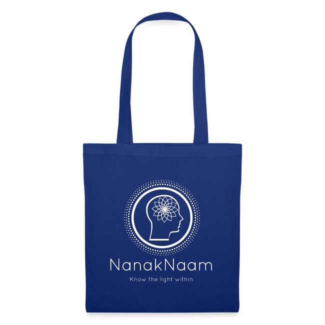 Nanak Naam Logo and Name - White