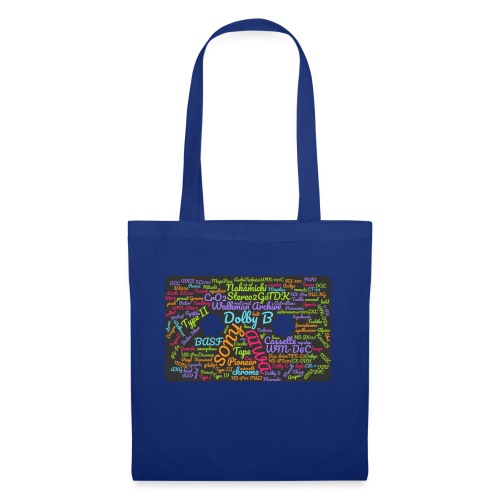 wordcloud Cassettes- WA - Tote Bag