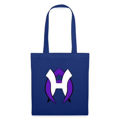 Logo Heneco Adelina violet noir - Sac en tissu