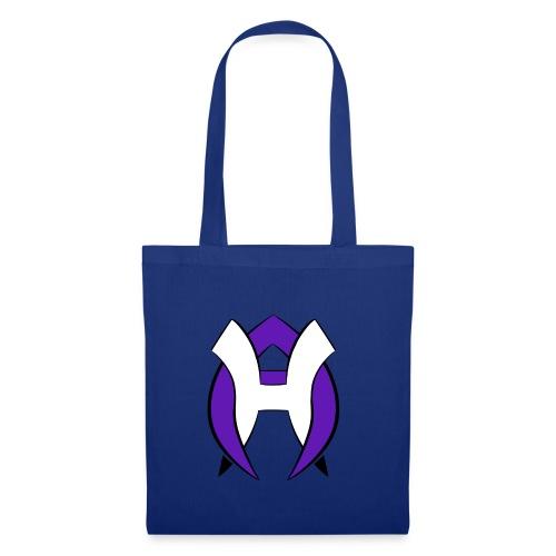 Logo Heneco Adelina violet noir - Tote Bag