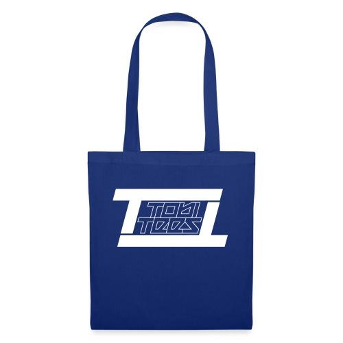 TobiTees 2020 logo white outline - Tas van stof