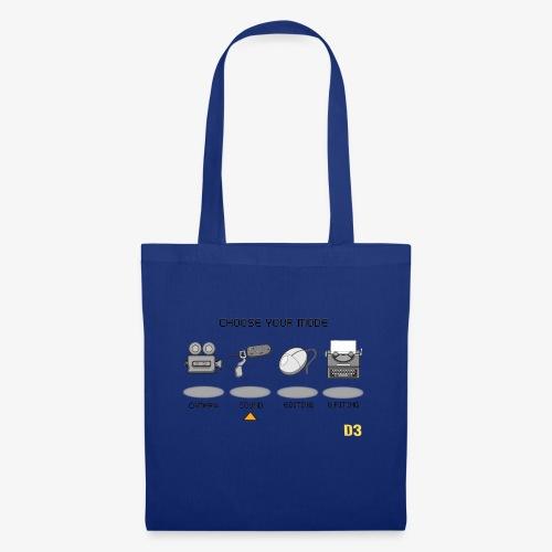 Sound/Black- Choose Your Mode - Tote Bag