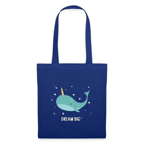 Ma baleine Dream Big - Tote Bag