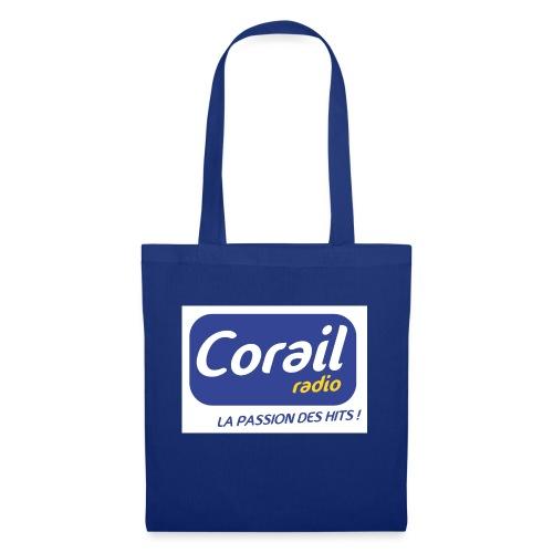 Logo bleu - Sac en tissu