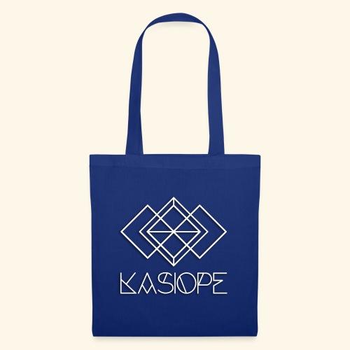 Logo Kasiope blanc - Tote Bag
